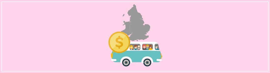 Cena busa do Anglii