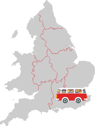 trasa busy Polska Anglia