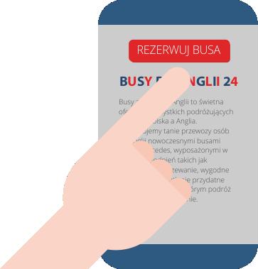 rezerwacja busa z Polski do Anglii